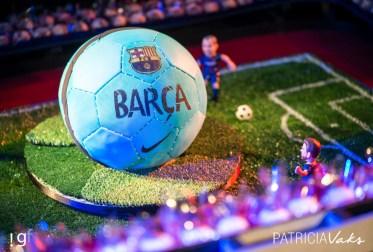 Festa de aniversário com tema futebol