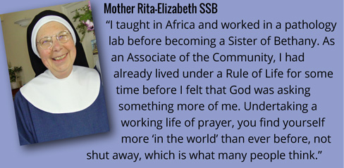 Mother Rita-Elizabeth on her vocation