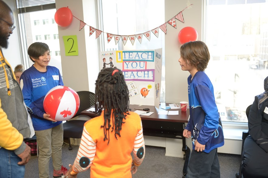 Bridges and Barriers Article Picture 2 - Students Playing Games
