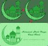 Membuat Gambar Bulan Sabit Masjid Siswapedia
