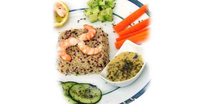 Une salade de Quinoa gourmande