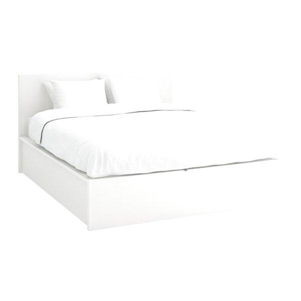 lit blanc ikea
