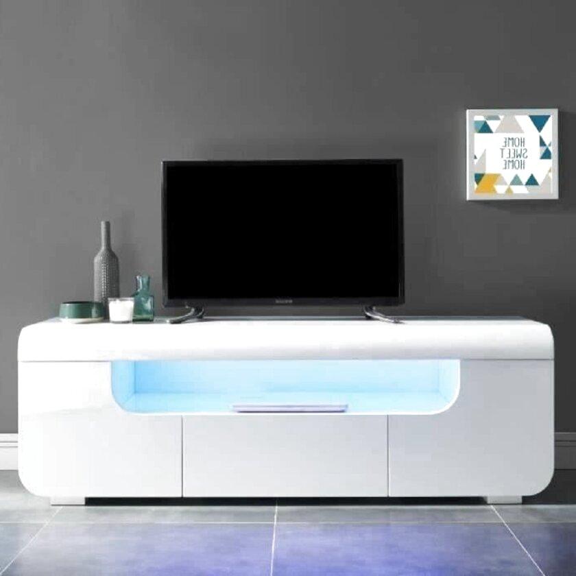 meuble tv laque blanc d occasion en