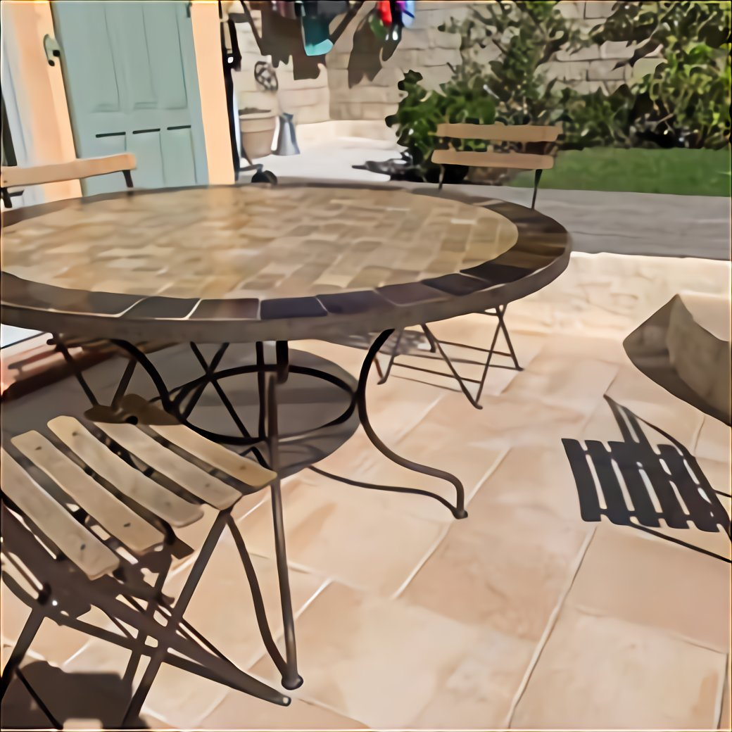table fer forge jardin ronde d occasion