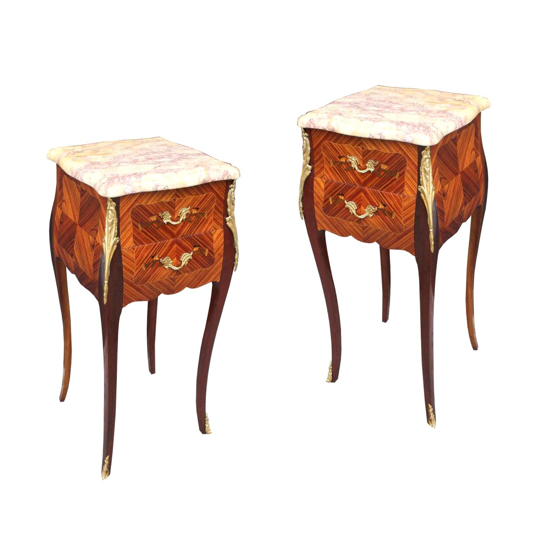 table chevet ancienne paire d occasion
