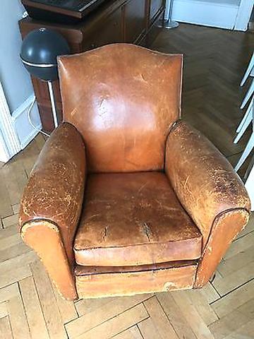 fauteuil ancien cuir fauteuil ancien d