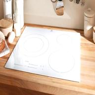 table cuisson a induction blanche d