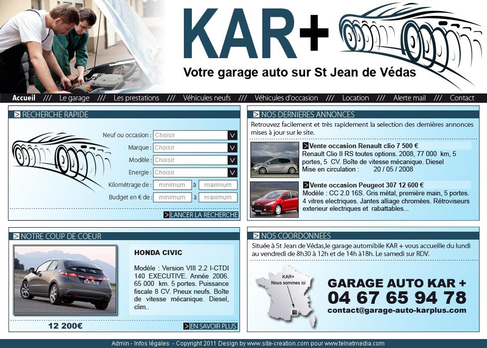 Exemple Site Automobile Modle Pour La Cration De Site Auto