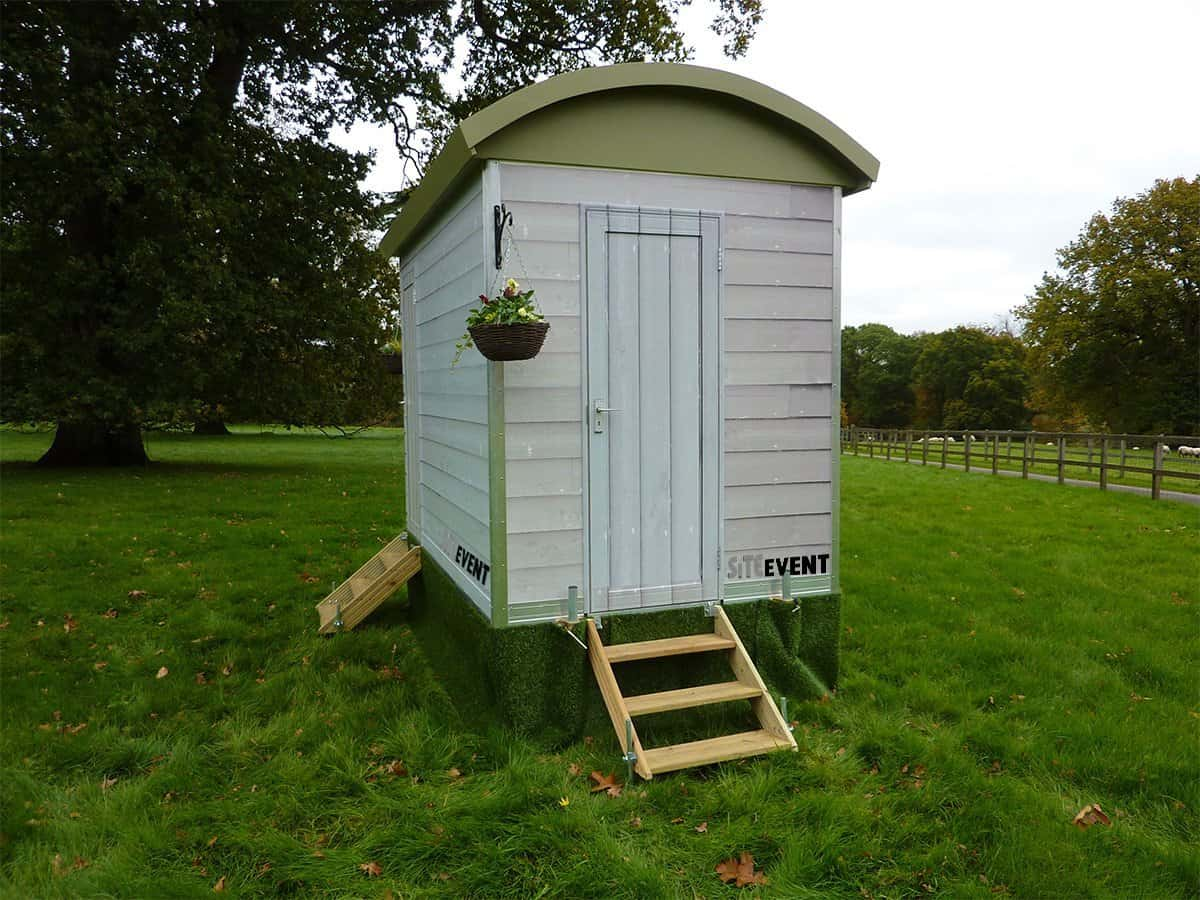 SHEPHERDS HUT 1+1 TRAILER