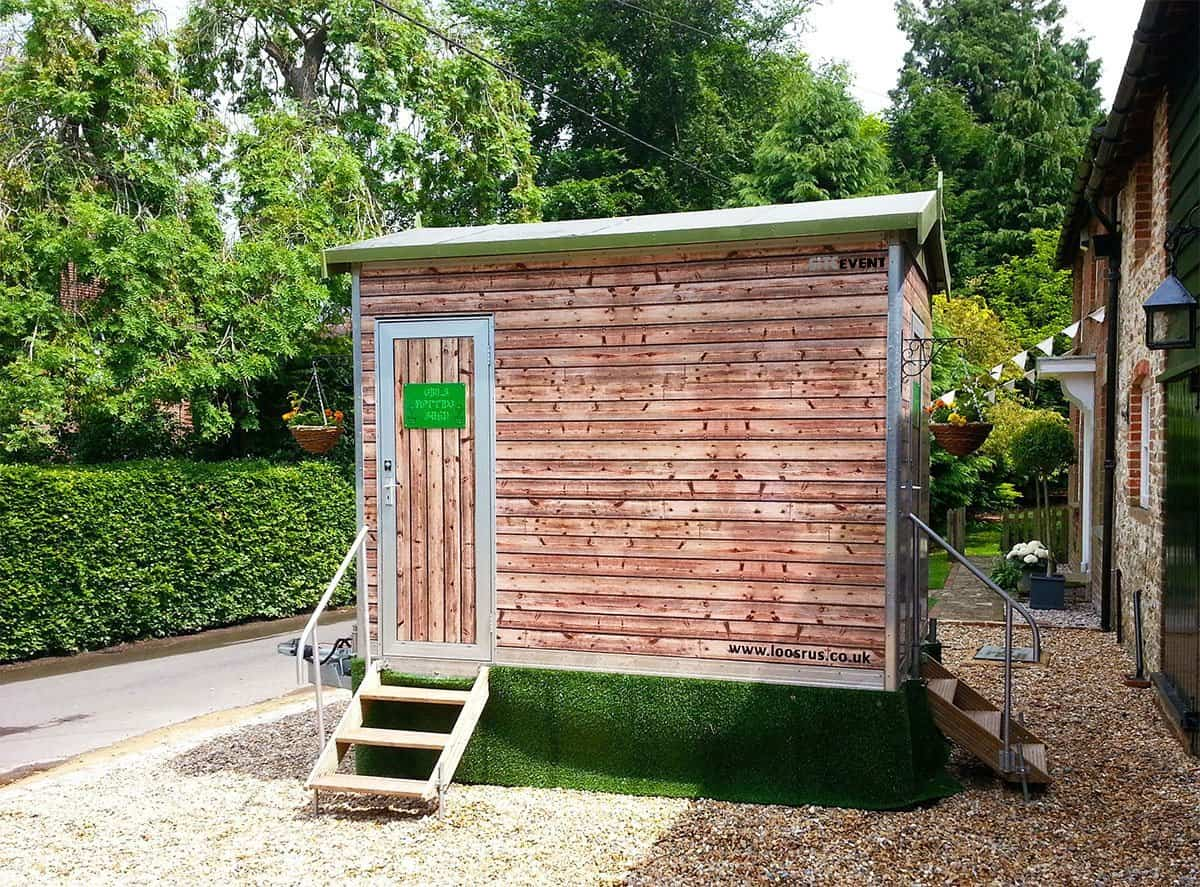 Potting Shed Toilet Trailer Hire