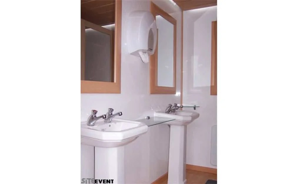 outdoor event toilet trailer