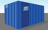 Anti-vandal container hire