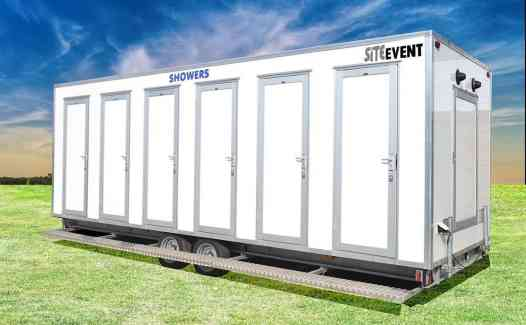 Shower Hire trailer 6