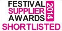 festival supplier awards