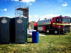 emergency toilet hire