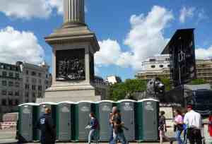 Trafalgar Square London Portable Toilets