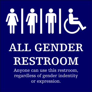 gender neutral bathroom hire
