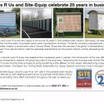 Loos R Us and Site Equip Celebrate 25 Years In Business