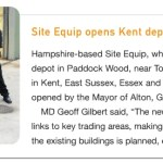 Site Equip Opens Kent Depot – Hire Executive News – October 2015