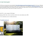 Site Event Shortlisted for Best Toilet Supplier – National Outdoor Events Association – October 2014