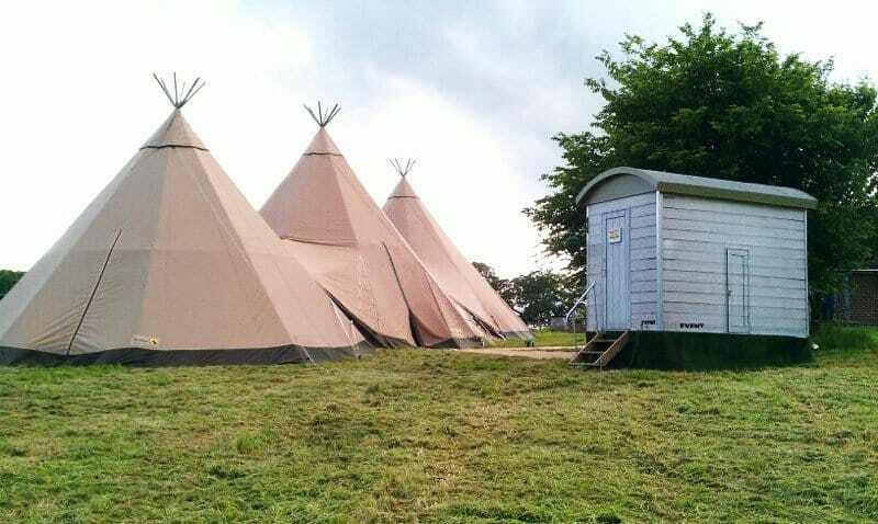 Camping to Glamping with Site Event