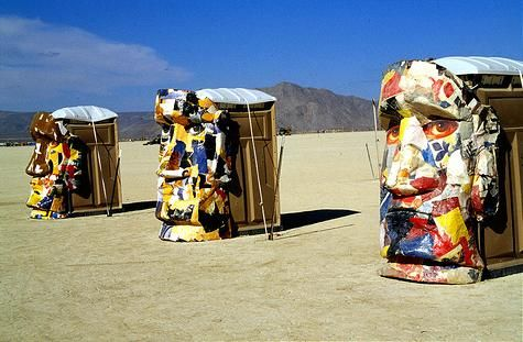 Check Out This Amazing Portable Toilet Art