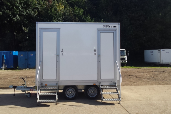 1+1 luxury toilet trailer for sale