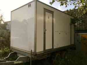 2+2 mains standard trailer for sale