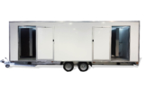 LUXURY 8 BAY TOILET TRAILER