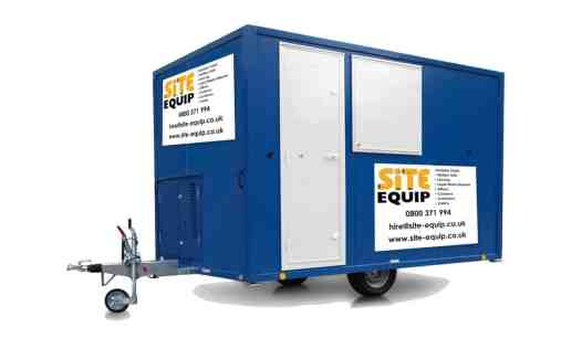 site accommodation hire