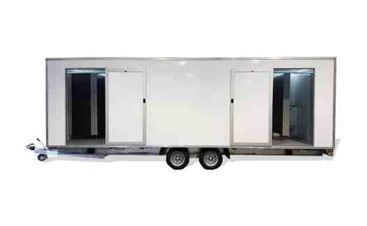 large toilet trailer