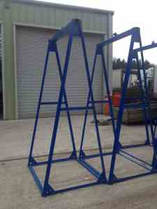 toilet lifting frame hire