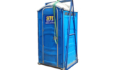 toilet in lifting frame with sling white2