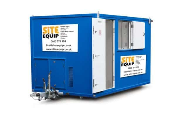 welfare units 12 foot with silent site