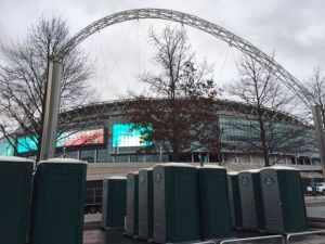portable toilet hire wembley london