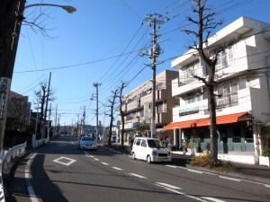 江田駅から事故現場へ。区画整理された住宅地が広がる。(撮影=bg)