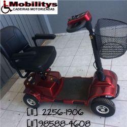 Mobility Bronze Desmontada Cadeira de Rodas Motorizadas Quadris