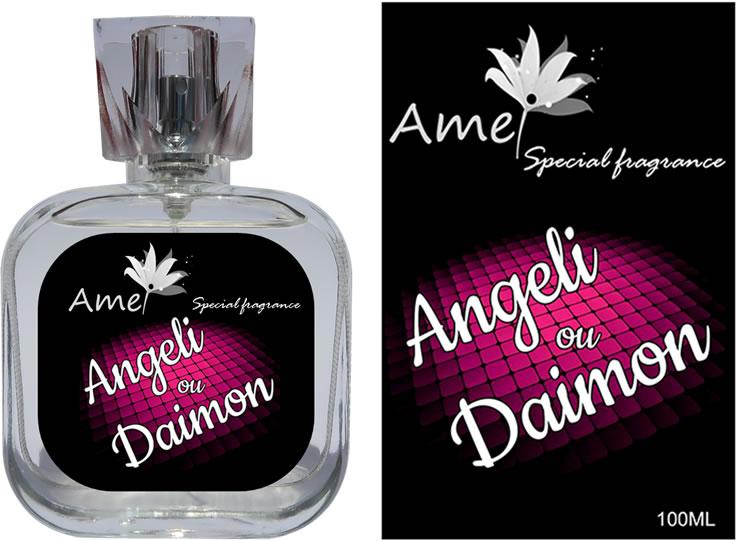 Perfume Angeli ou Daimon 100ml, inspirado no perfume Ange ou Démon