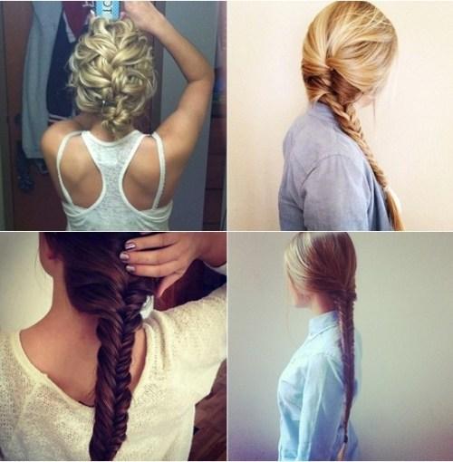 tranças para evitar o Bad hair day