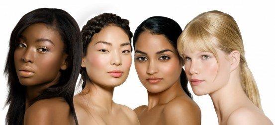 tipos de pele e cabelo