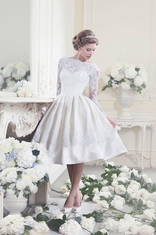 vestidos de noivas comportados