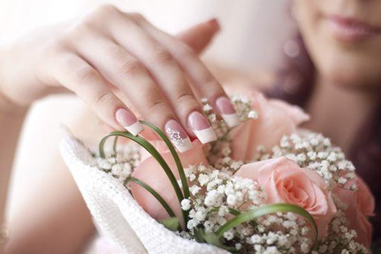 mãos de noivas