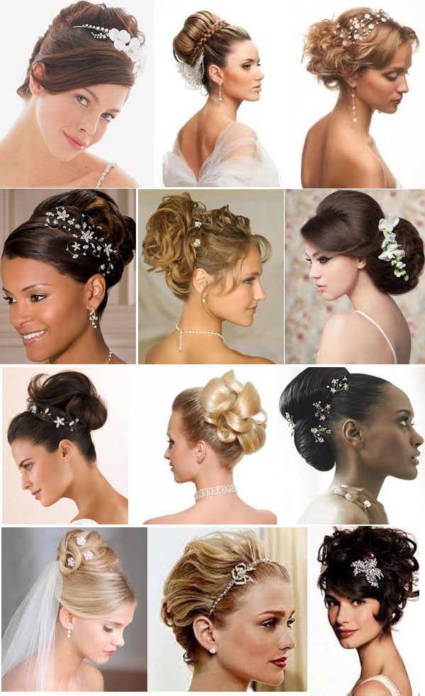 penteados presos - Penteados para noivas: cabelo preso