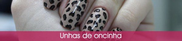 tutorial de unhas decoradas de oncinha