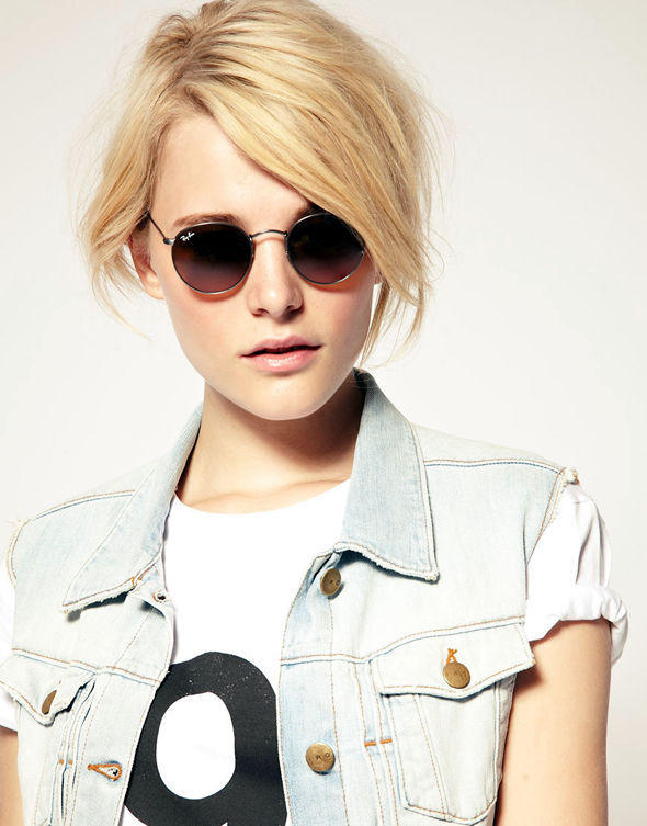 moda do óculos redondo