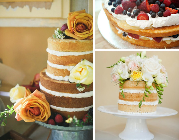 fotos de Naked cake