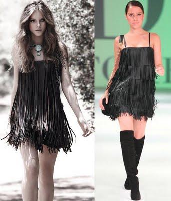 fotos de vestidos de franjas