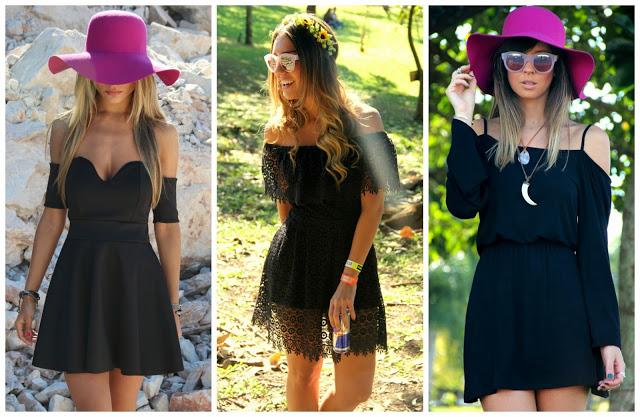 Decote ciganinha tendência da moda verão