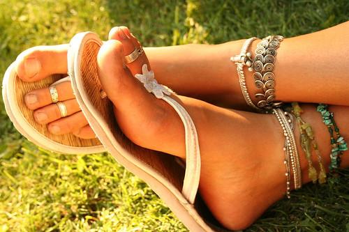 pés bem cuidados
