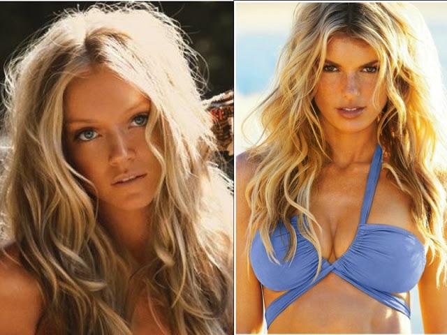 foto de modelo usando Cabelo com efeito pós praia
